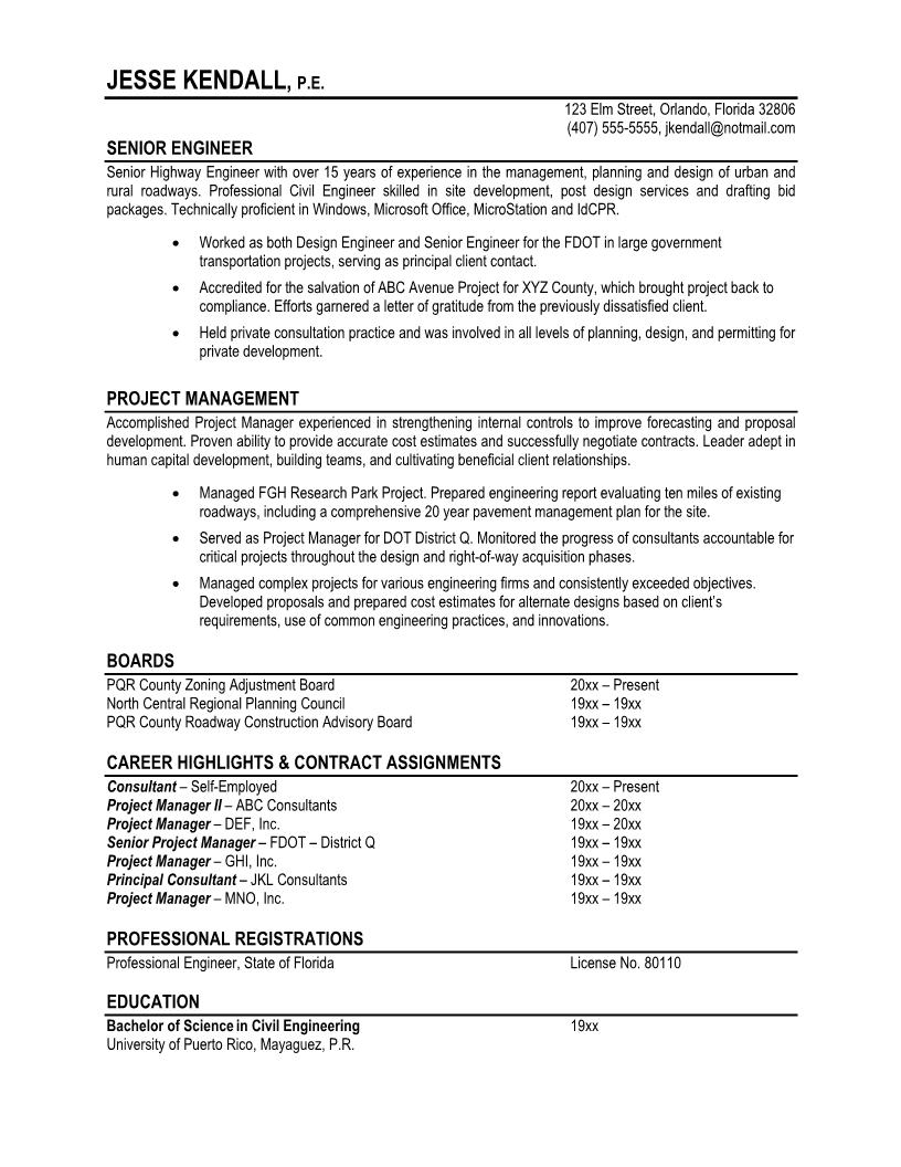 7 2bsamples 2bof 2bprofessional 2bresumes3 - Professional Resume Sample