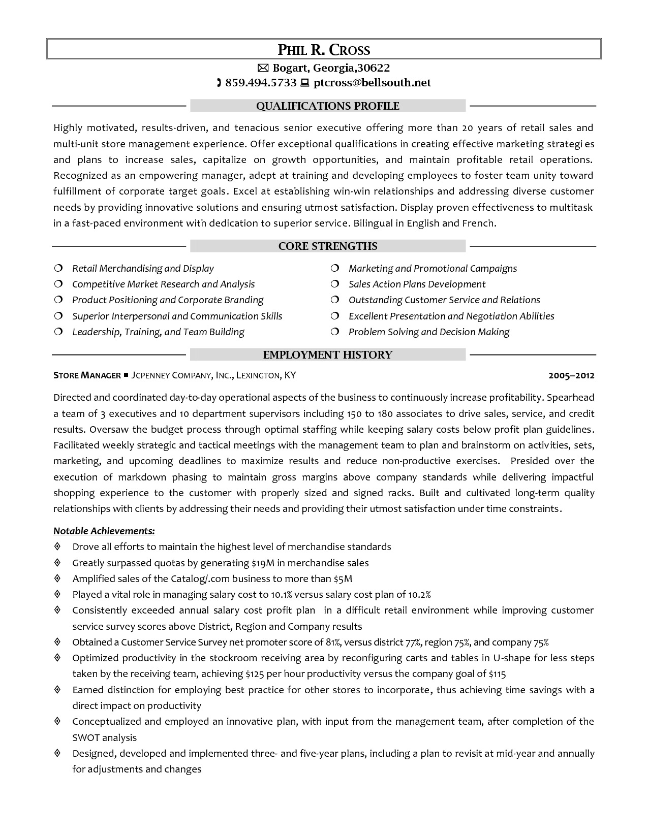 retail store manager resume fresh assistant examples of resumes 8 - Retail Store Manager Resume