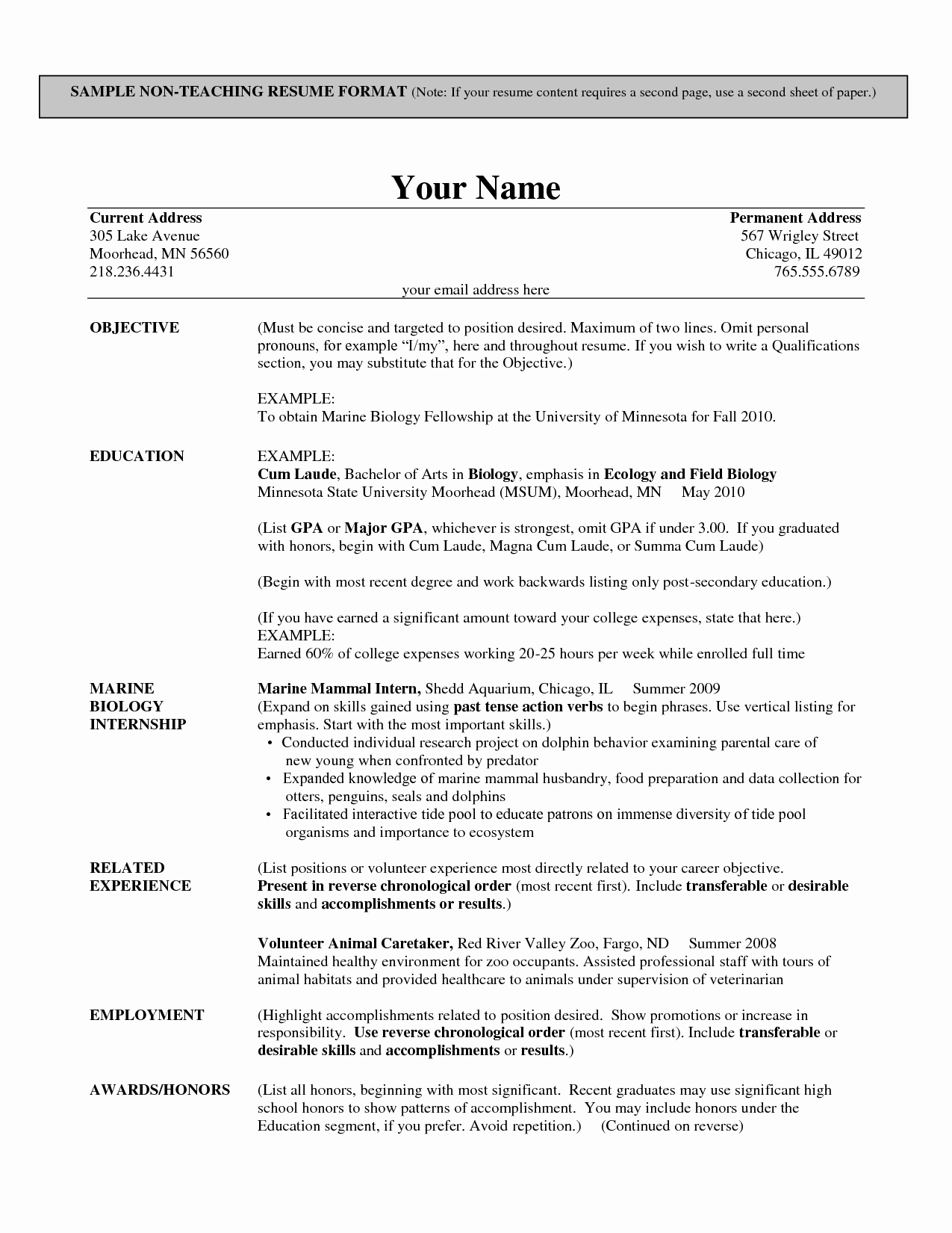 Resumes For Employers